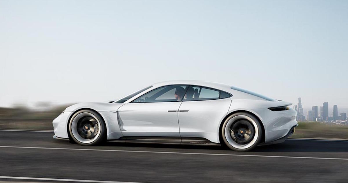Porsche Mission E Tribute To Tomorrow